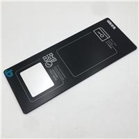 钢化玻璃面板 透明浮法白玻璃 智能刷卡钢化玻璃面板厂