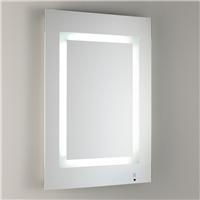 定制加工LED智能浴室灯镜 LED发光浴室镜壁挂