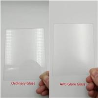 新型ag玻璃厂 3mm防眩光ag玻璃