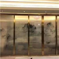 银川夹丝玻璃隔断