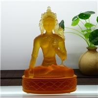 西藏琉璃佛像定做厂家 琉璃密宗佛像 藏传琉璃佛像