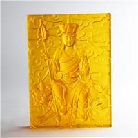 古法琉璃佛砖定做厂家 广州琉璃佛像工厂 琉璃壁画大件
