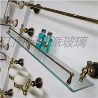 8mm钢化玻璃 卫浴面板玻璃 置物挡板玻璃