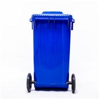 垃圾桶-工厂垃圾桶-100L带轮塑料垃圾桶厂