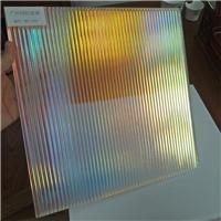 广州炫彩玻璃炫彩艺术玻璃 钢化幻彩玻璃