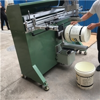 涂料桶丝印机塑料桶丝网印刷机化工桶滚印机