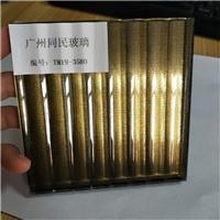 广州夹丝玻璃厂家 条纹夹丝玻璃背景 夹丝玻璃