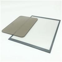 精雕单反单透镜面玻璃 丝印镜面钢化玻璃加工厂