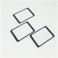 3.2mm刷卡区丝印玻璃 物理全钢化 纸盒包装丝印玻璃厂厂
