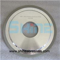 14F1树脂金刚石砂轮