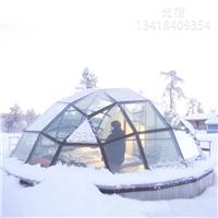 星空玻璃屋 雪景玻璃屋 度假玻璃屋 钢结构玻璃屋定做