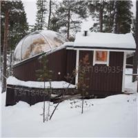 星空玻璃屋 雪景玻璃屋 度假玻璃屋 钢结构玻璃屋定做厂