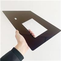 完美对称线条突出的丝印玻璃 AR镀膜丝印玻璃厂