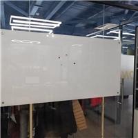 白板玻璃白板磁性钢化写字板厂家安装送货