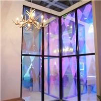动感调光玻璃 定制动态分区控制雾化玻璃幕墙厂
