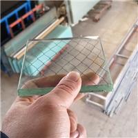 上海夾鐵絲屏蔽網玻璃