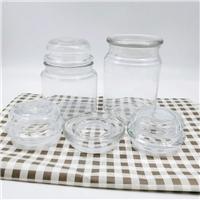供应玻璃罐,玻璃烛台,蜡烛罐玻璃盖子储物罐
