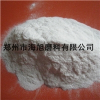 白刚玉砂吸油量少硬度高用于涂料添加剂