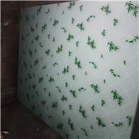 本公司常年供应丝印玻璃