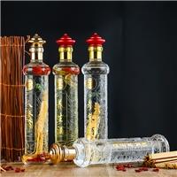 玻璃瓶定制玻璃酒瓶鹿血泡酒瓶人参酒瓶