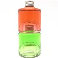 玻璃瓶方型酒瓶铝盖密封瓶果汁瓶杨梅酒分装瓶