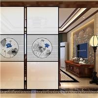 供应简约酒店夹丝玻璃卧室办公室装饰墙 支持定制