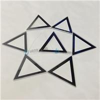 无退货自动感应支架钢化玻璃 三角形面板丝印玻璃
