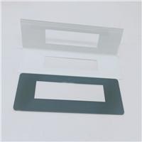耐高温丝印视窗玻璃 电子电器面板钢化玻璃