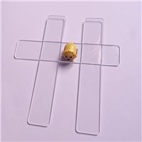 高清晰长条超白玻璃 电子级超白钢化玻璃