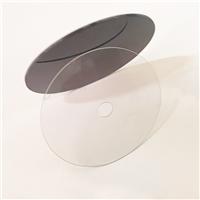 CD碟片钢化玻璃 1mm钢化玻璃定做