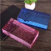 彩色玻璃砖  现货供应