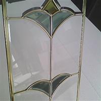 晶钦铜条玻璃,铜条玻璃门