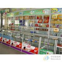 南京烟酒柜台,可拆卸玻璃柜台