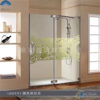 淋浴房玻璃离子镀金