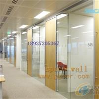深圳龙岗百叶窗玻璃高隔断工程