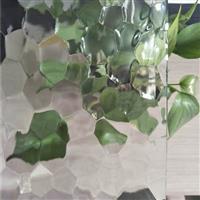 水立方金晶压花压延工艺玻璃原片厂家直销