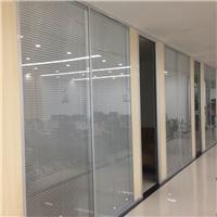 钢化玻璃隔断墙 办公室写字楼铝合金隔断