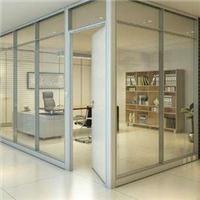 单层玻璃隔墙 移动隔断墙 单层玻璃隔断