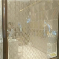 沙河装饰夹丝玻璃加工厂