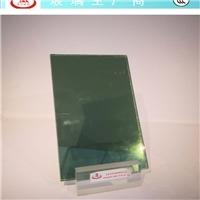 单向反射玻璃4mm翡翠绿镀膜隐私玻璃镶嵌门玻璃