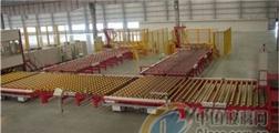 光伏钢化玻璃生产线上片机器人