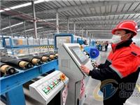 宿迁高新区境内企业自主研发国内单线产能较大的电子玻璃生产线