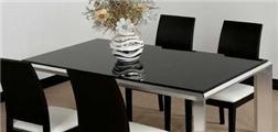 玻璃餐桌该如何保养?