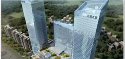 南宁首座双子塔建筑,228米全玻幕墙打造首府地标