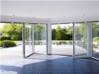 铝合金玻璃折叠门尺寸是多少  折叠玻璃门的优点有哪些
