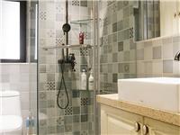 淋浴房怎样做隔断  卫生间淋浴房玻璃做磨砂效果好吗