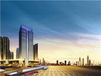 华安:名玻玻璃深加工项目主体建设进行中