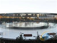 苹果乔布斯剧院获结构艺术工程大奖:玻璃支撑80吨重屋顶