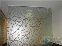 磨砂玻璃屏风隔断有哪些特点?