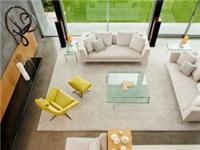 客厅里玻璃茶几应该放什么桌布  玻璃柜门常用哪几种材质